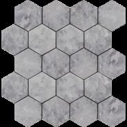 Hexagon Lg Tumbled